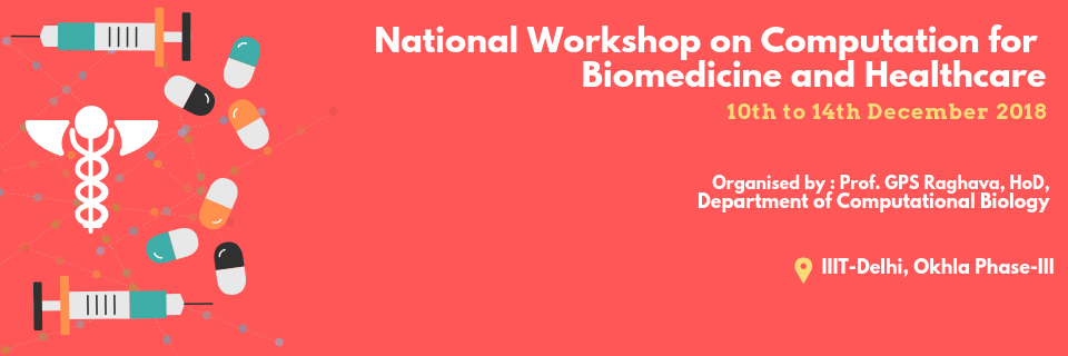 National Workshop on Computation for Biomedicine and Healthcare