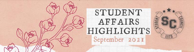 Student Affairs Hightlights